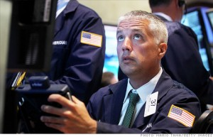 Investors lose a trillion dollars in one day